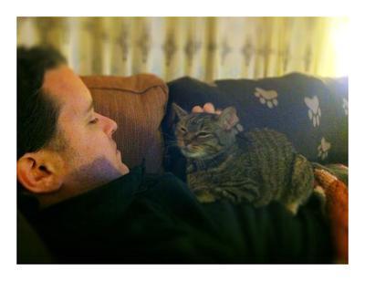 Enjoying pets